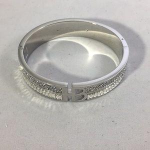 Henri Bendel Double Row Crystal Bracelet
